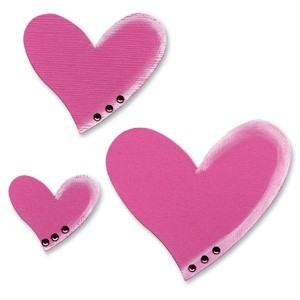 Sizzix Bigz Die - Hearts, Tipsy