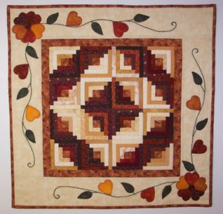 "Autumn Daze – 26"" Foundation Piecing Pattern"