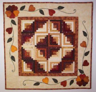 """Autumn Daze – 26"""" Foundation Piecing Pattern"""