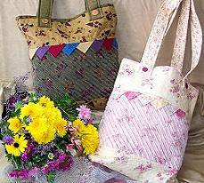 Shabby Chenille Bag Pattern