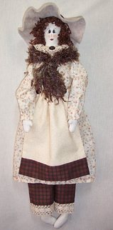 "Ellie – 21"" Doll Pattern"
