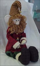 "Goffannon - 20"" Christmas Gnome Doll Pattern"