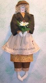 "Grace – 21"" Country Doll Pattern"