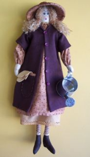 "Heather – 21"" Gardening Doll Pattern"