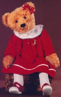 "Lizzy - 26"" Bear Pattern"