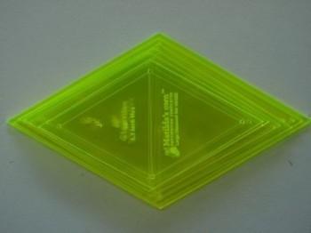 Matilda's Own Lrg Diamond Template Set