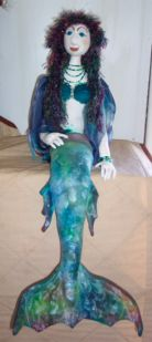 Mareenah the Mermaid Doll Pattern