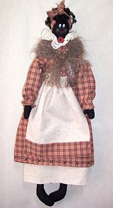 "Ruby – 21"" Black Mammy Doll Pattern"