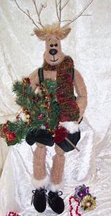 """Rudy – 28"""" Reindeer Doll Pattern"""