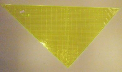 "Matilda's Own Triangle 24"" Patchwork Ruler"