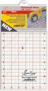 "Sew Easy Ruler 6.5"" x 12"""