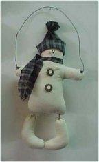 "Hangin' Snowman – 8"" Doll Pattern"